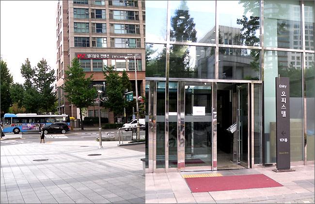 AKEFT코칭센터 오시는 길과 건물입구 입니다.^^